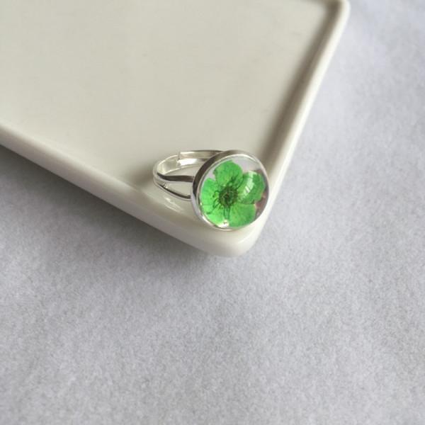 Ring Kirschblüte - Grün