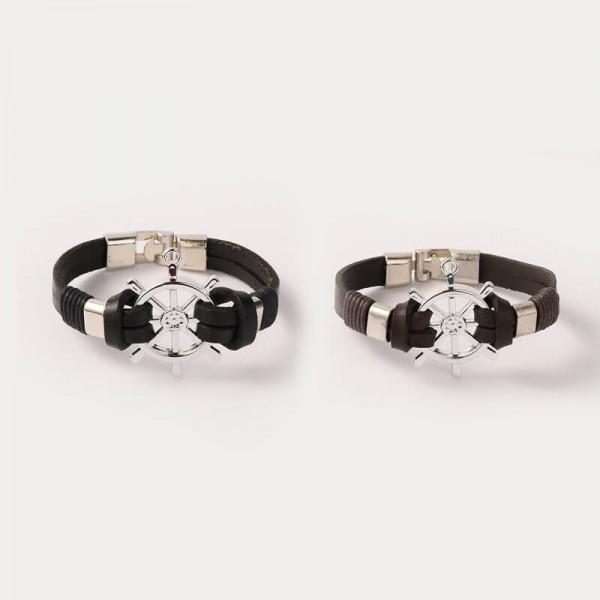 Armband Ruder maritim - Schwarz