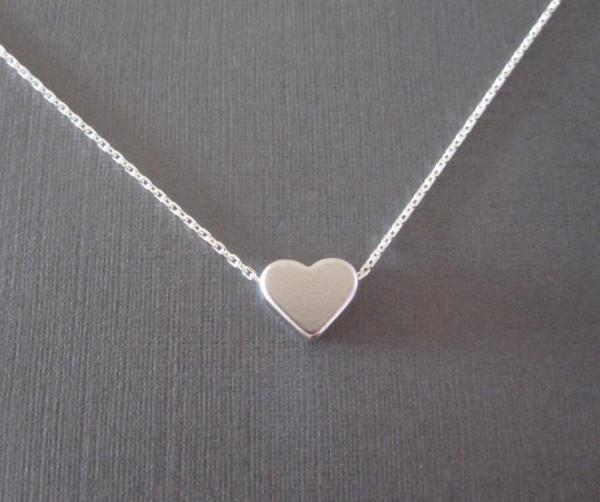 Silber Kette Herz