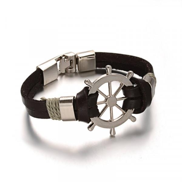 Armband Ruder maritim - Grau