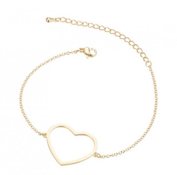 Armkettchen Herz - Gold