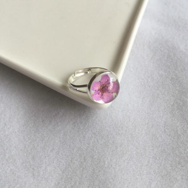 Ring Kirschblüte - Lila
