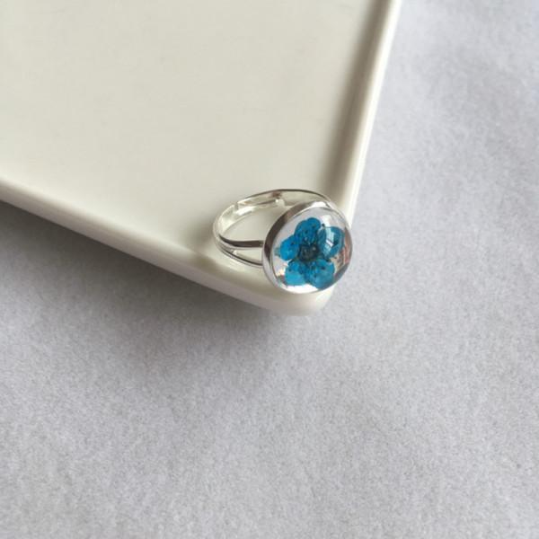 Ring Kirschblüte - Blau